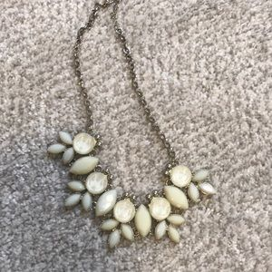 Off white chunky necklace